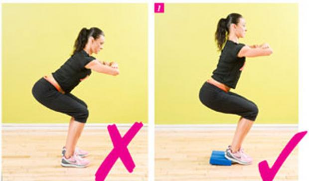squats | On The Go Fitness